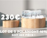 Lot de 5 Polanight 16%
