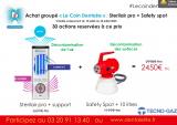STERIL AIR + SAFETY SPOT - Action le coin dentaire