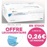 Masques Type IIR - Offre lecoindentaire